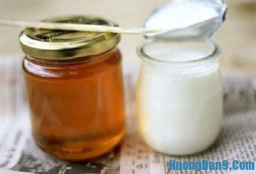 Hướng dẫn cách làm trắng da bằng mật ong và sữa chua