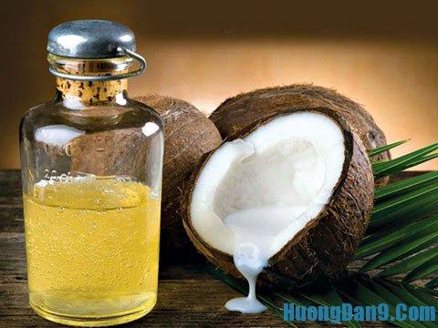 Cách làm dài lông mi bằng dầu dừa