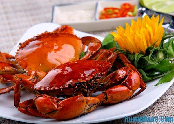 Nguyên liệu nấu lẩu cua biển