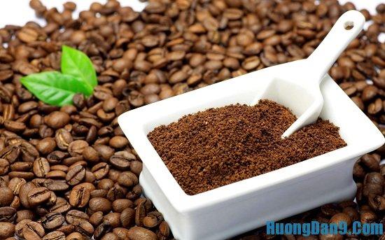 Nguyên liệu và vật dụng pha cà phê