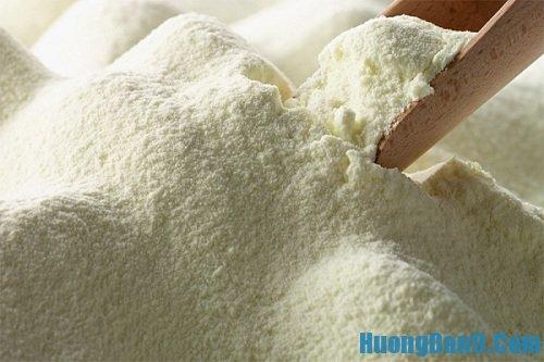 Hướng dẫn cách phân biệt sữa bột thật và giả