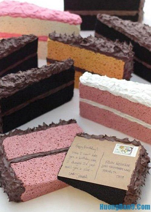 Hướng dẫn cách làm thiệp 20/10 hình bánh kem ngọt ngào, độc đáo và lạ mắt tại nhà