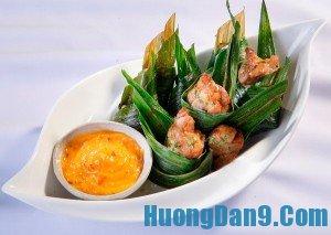 Hướng dẫn thực hiện món gà gói lá dứa chuẩn kiểu Thái Lan