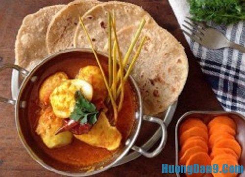 Hướng dẫn cách làm cà ri trứng gà thơm ngon