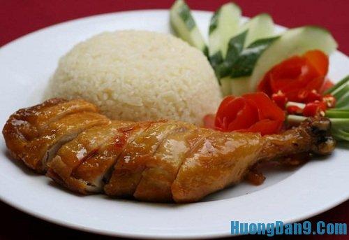 Hướng dẫn cách làm cơm gà xối mỡ thơm ngon