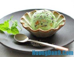 Hướng dẫn cách làm kem bạc hà mát lạnh cực ngon cho ngày hè