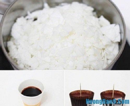 Hướng dẫn chi tiết cách làm nến thơm hình bánh kem