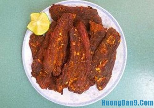 Hướng dẫn cách làm thịt bò khô từ thịt lợn ngon như hàng