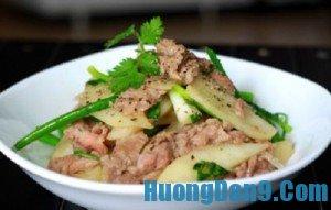 Hướng dẫn cách làm thịt bò xào củ đậu giòn ngon, bổ dưỡng