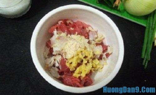 Tiến hành thực hiện cách làm thịt bò xào lá lốt