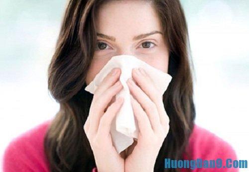 Hướng dẫn cách trị nghẹt mũi hiệu quả chi tiết
