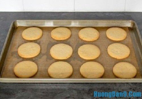 Các bước thực hiện cách làm bánh quy gừng giòn ngon