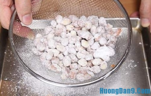 Cách làm chi tiết đậu phộng bọc đường