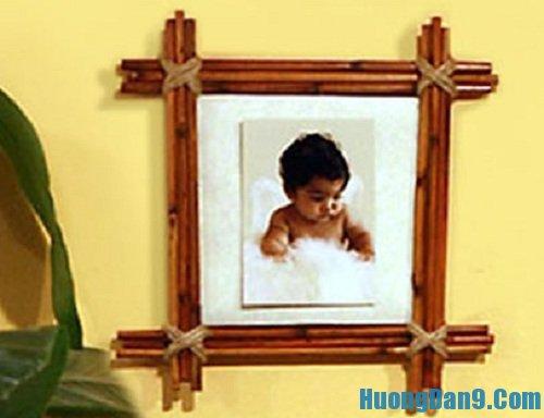 Hướng dẫn cách làm khung ảnh bằng tre tại nhà
