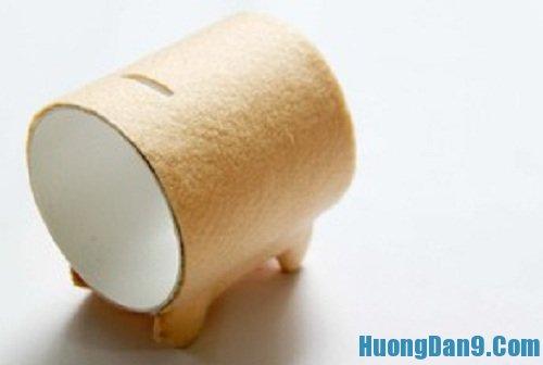 Các bước hướng dẫn cách làm ống heo tiết kiệm
