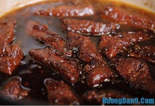 Hướng dẫn chi tiết cách làm thịt kho indonesia