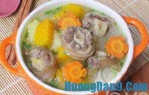 Hướng dẫn cách nấu súp đuôi bò thơm ngon, bổ dưỡng