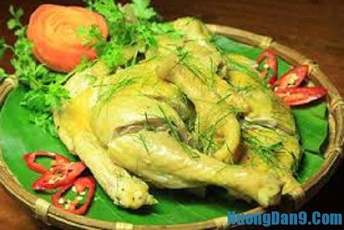 Hướng dẫn cách làm gà hấp lá trúc thơm ngon