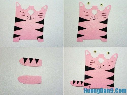 Cách làm khung ảnh mèo tại nhà chi tiết nhất