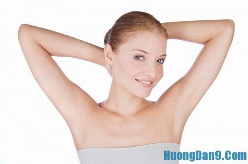 Hướng dẫn cách tẩy lông nách hiệu quả tại nhà