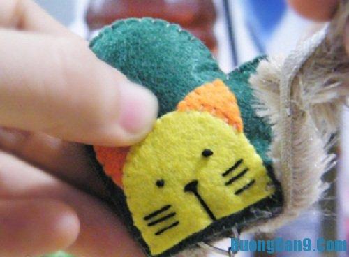 Hoàn thiện cách làm móc chìa khóa đôi handmade tại nhà