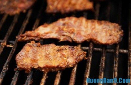 Các bước thực hiện cách làm thịt heo nướng sả