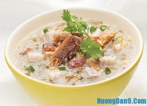 Hướng dẫn cách nấu cháo cá chép ngon bổ dưỡng