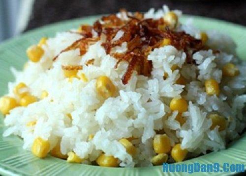 Hướng dẫn cách nấu xôi ngô thơm ngon bổ dưỡng