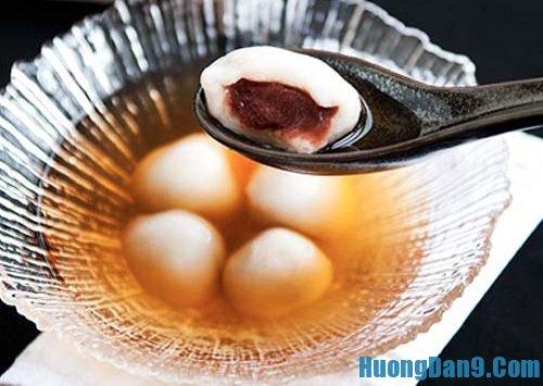 Hướng dẫn cách làm bánh trôi nước đậu đỏ thơm ngon hấp dẫn