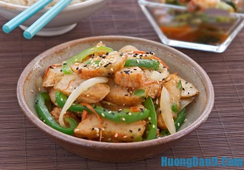 Hướng dẫn cách làm chả cá xào rau củ thơm ngon đậm đà cho cả nhà