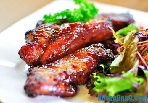 Hướng dẫn cách làm sườn nướng BBQ thơm ngon hấp dẫn