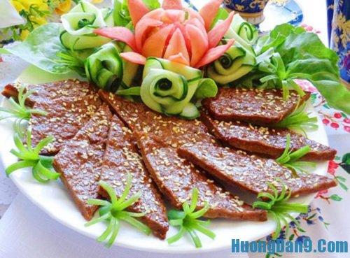 Hướng dẫn cách làm thịt bò nướng vừng đơn giản mà ngon
