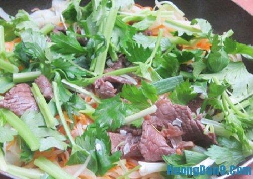 Hoàn thiện cách làm thịt bò xào củ cải khô thơm ngon hấp dẫn