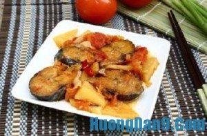 Hướng dẫn cách làm cá nục kho cà chua thơm ngon đậm đà hương vị