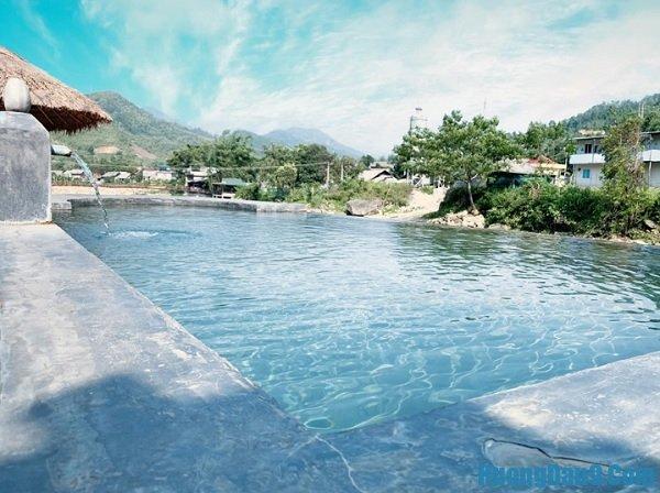 Địa điểm du lịch mới ở Sapa siêu hấp dẫn. Địa điểm vui chơi mới ở Sapa. Suối nước nóng ở Bản Hồ