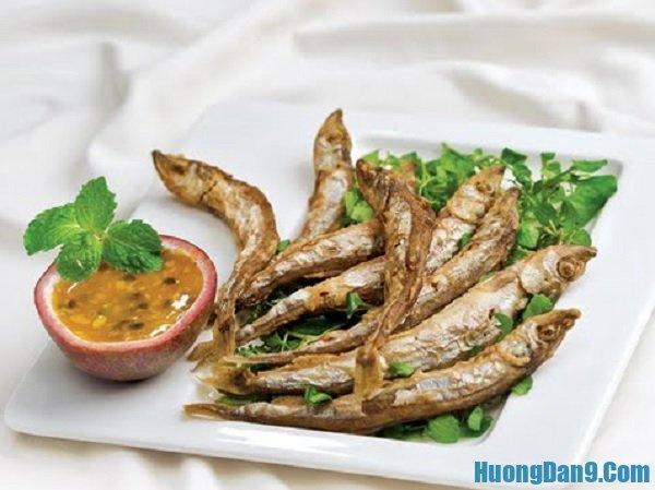 Những món ăn ở Tam Đảo siêu ngon. Cá bống suối và cá tầm