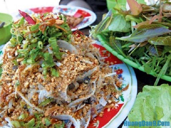 Những món đặc sản ở Sầm Sơn. Gỏi cá. Món ăn nổi tiếng ở Sầm Sơn